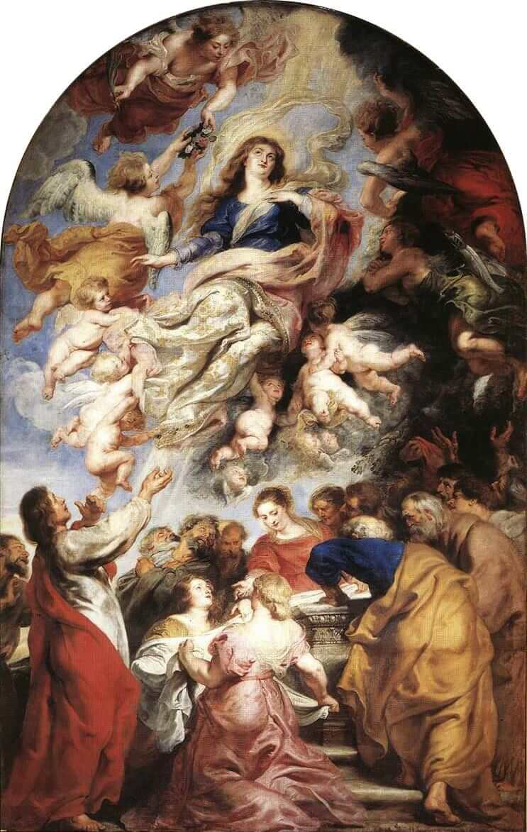 Assumption of the Virgin Mary, 1626 by Peter Paul Rubens