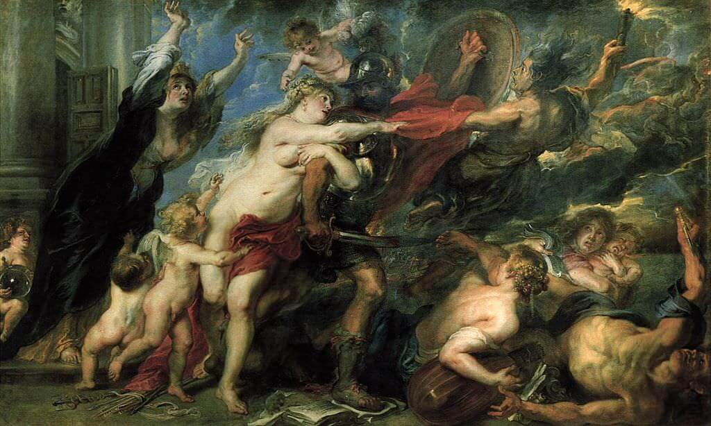 Rubens Andromeda 1638 by Peter Paul Rubens