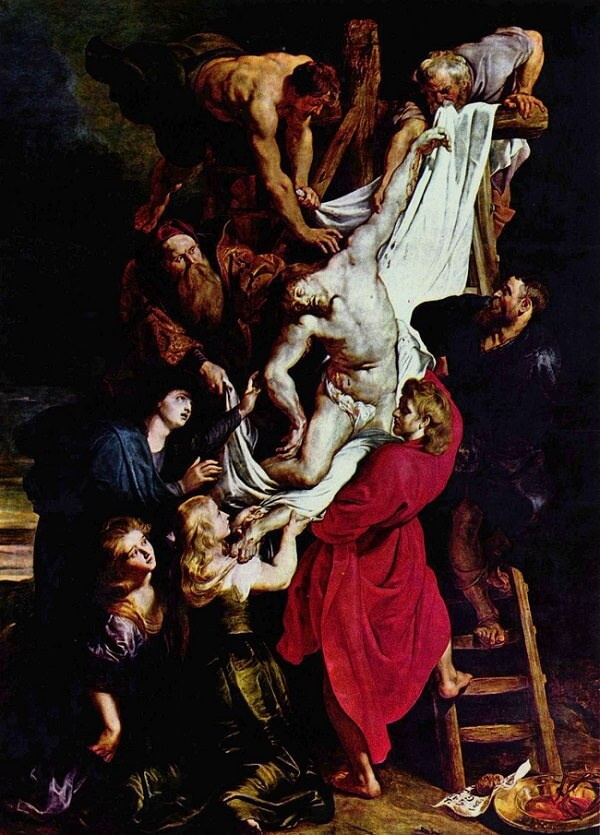 Descent from the Cross, 1612 by Peter Paul Rubens