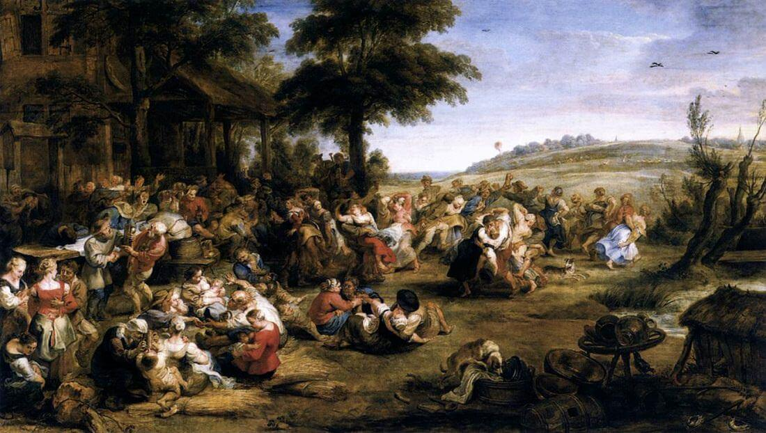 Flemish Kermis, 1635 by Peter Paul Rubens