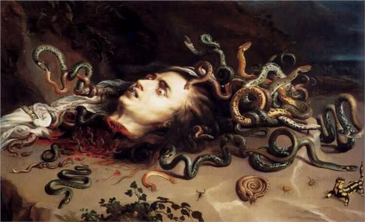The Head of Medusa, 1617-1618 by Peter Paul Rubens