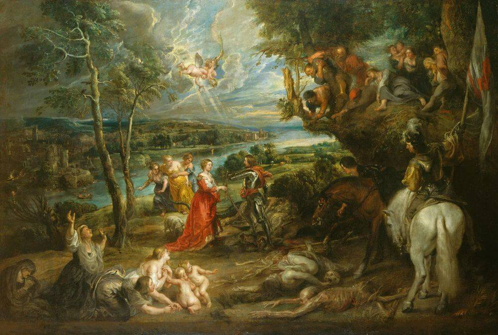 Landscape with St George and the Dragon, 1630 by Peter Paul Rubens