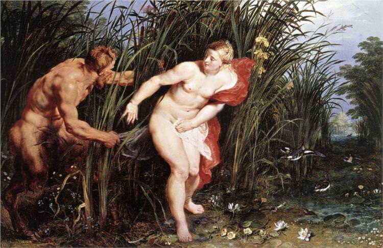 Pan and Syrinx, 1617-1619 by Peter Paul Rubens