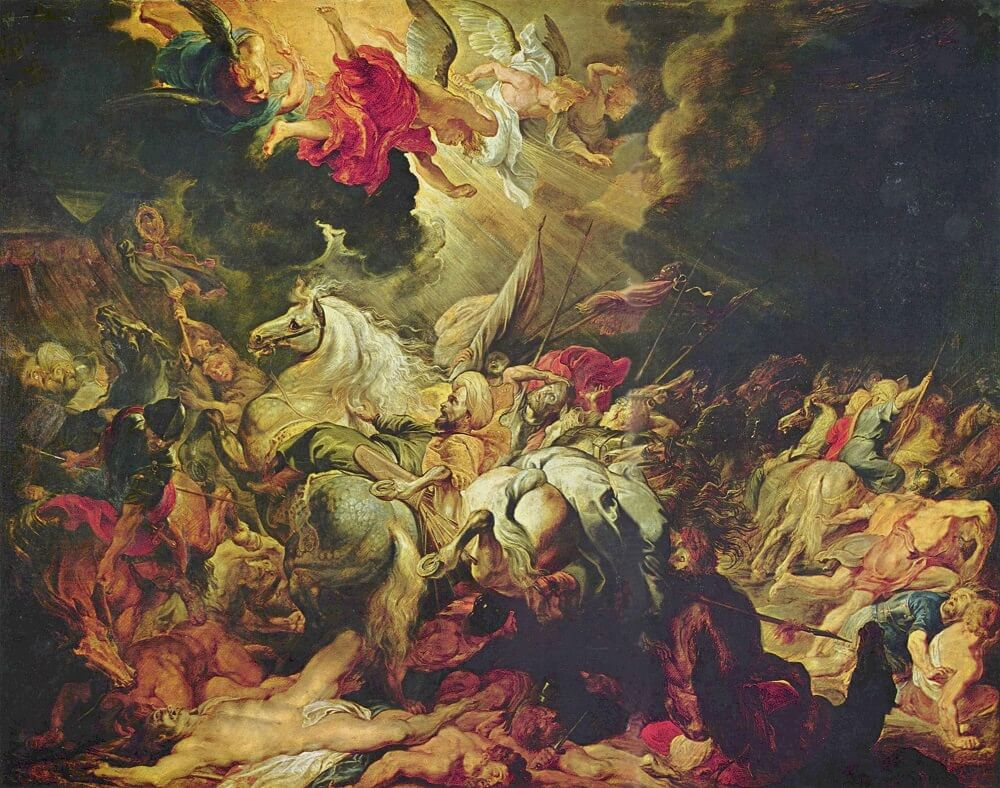 The Defeat of Sennacherib, 1612 by Peter Paul Rubens