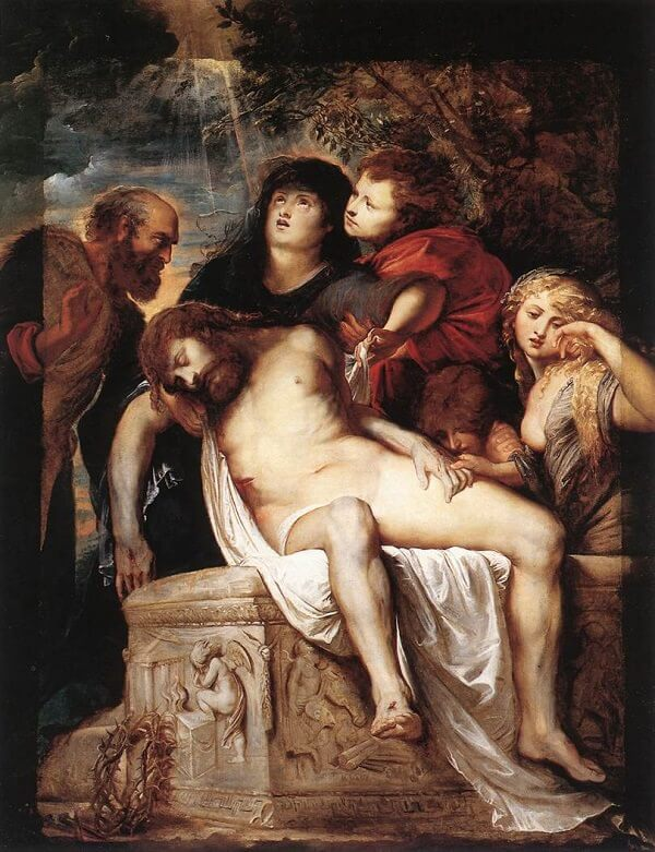 The Deposition, 1602 by Peter Paul Rubens