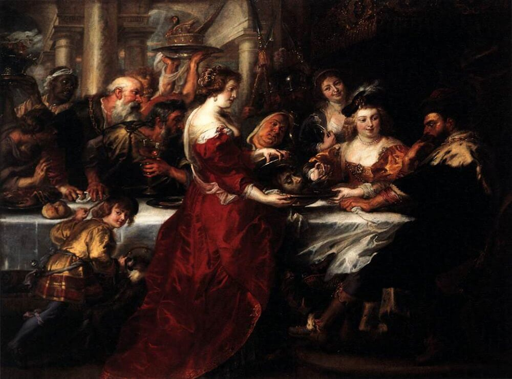 The Feast of Herod, 1633 by Peter Paul Rubens