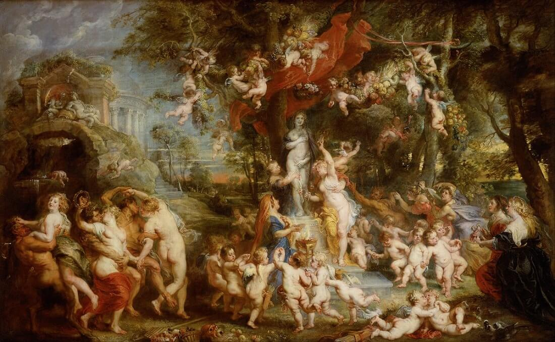 The Feast of Venus, 1635 by Peter Paul Rubens
