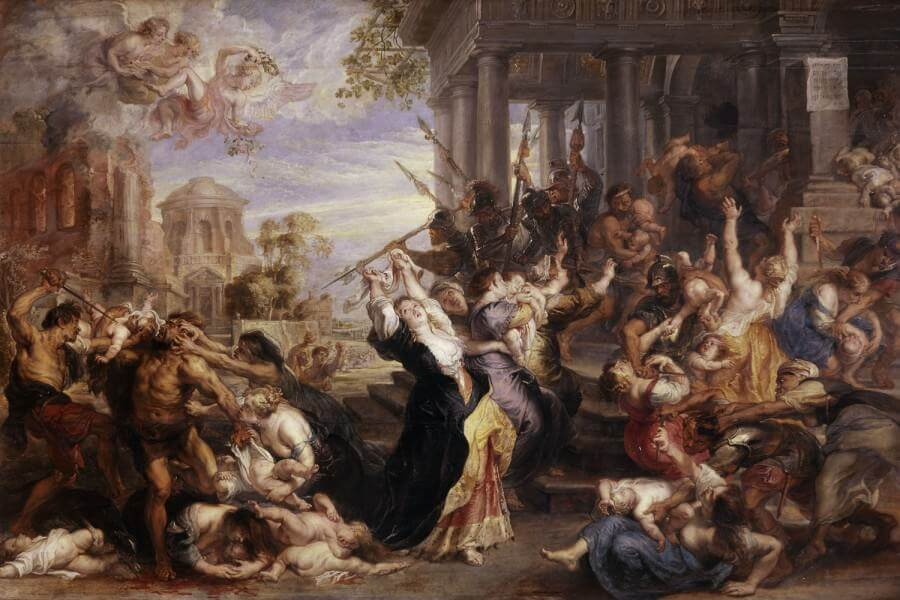 Massacre of the Innocents, 1612 by Peter Paul Rubens