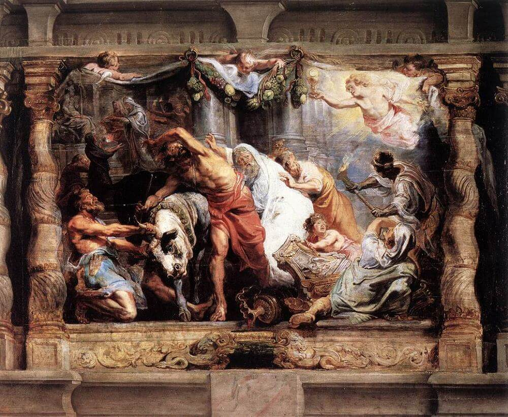 The Victory of Eucharistic Truth over Heresy, 1626 by Peter Paul Rubens